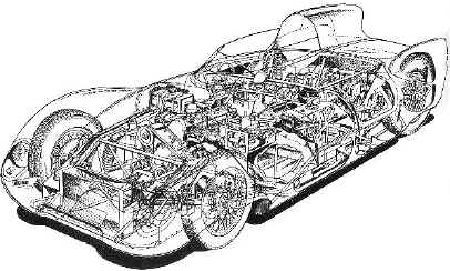 drawing by Theo Page, Autosport.